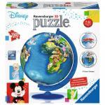 Puzzle 3d Globul Disney 180 piese