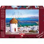 Puzzle 500 piese Mykonos