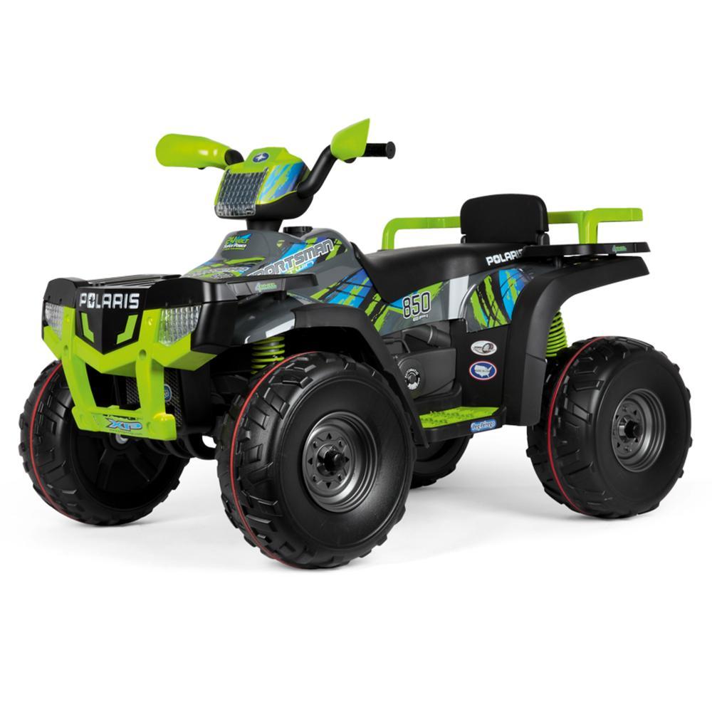 ATV electric Polaris Sportsman 850 Lime Peg Perego