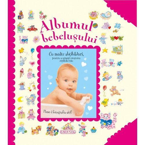 Albumul bebelusului (roz) imagine
