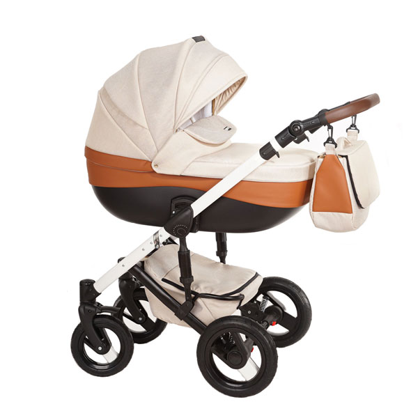 Carucior 3 in 1 Cross Beige