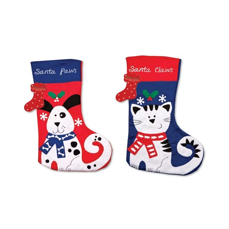 Ciorap pentru cadouri cu tematica Sarbatorilor de iarna