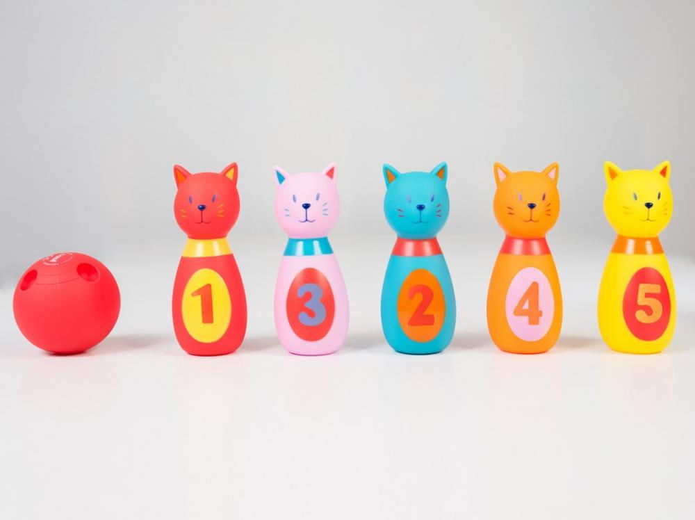 Set de popice soft Pisicute Ludi