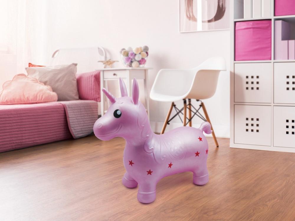 Unicorn saltaret Roz imagine