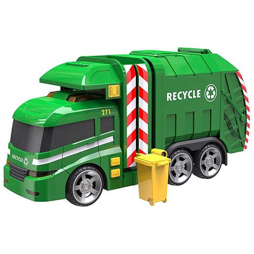 Masina de gunoi cu lumini si sunet Garbage Truck