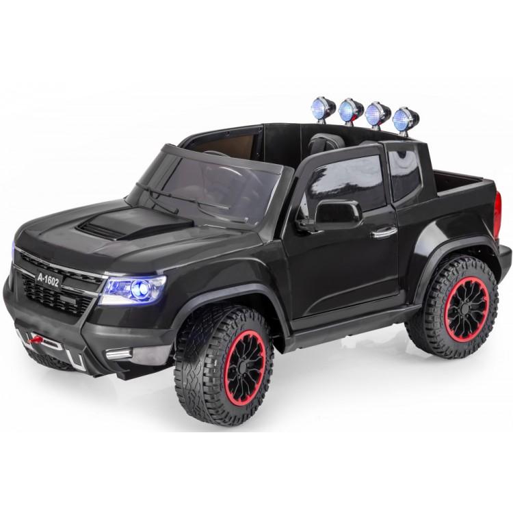 Masinuta Electrica Cu Telecomanda 2,4ghz Invincible Jeep Offroad Black
