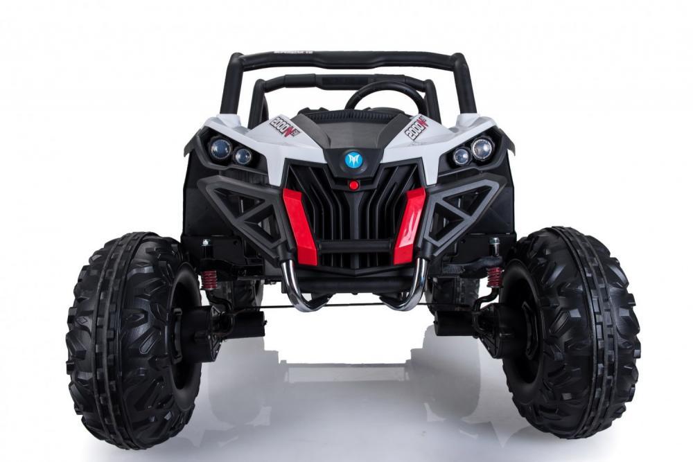 Masinuta electrica cu telecomanda Xtreme Jumper 4x4 UTV-MX White - 2