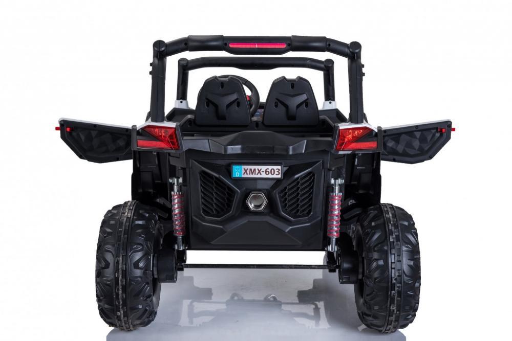 Masinuta electrica cu telecomanda Xtreme Jumper 4x4 UTV-MX White - 3