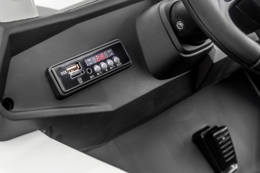 Masinuta electrica cu telecomanda Xtreme Jumper 4x4 UTV-MX White - 8