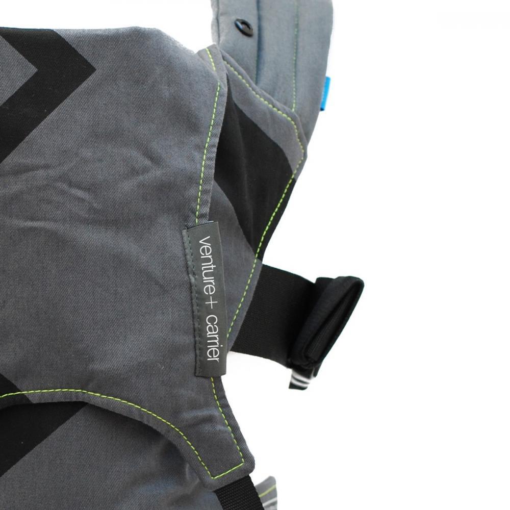 Sistem de purtare Venture+ Charcoal GreyBlack Zigag