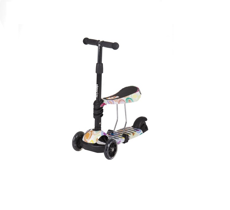 Trotineta evolutiva Scooter 3 in 1 Ride and Skate Circles