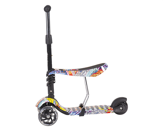 Trotineta evolutiva Scooter 3 in 1 Ride and Skate Scretch