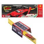 Set Bburago 1:64 Ferrari R & P Test Track