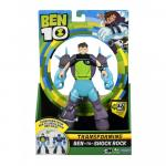 Figurina transformabila Deluxe Ben 10 Shock Rock
