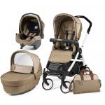 Carucior 3 in 1 Peg Perego Book Plus 51 Black&White Class Beige
