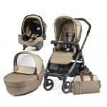 Carucior 3 in 1 Peg Perego Book Plus 51 S Black Class Beige