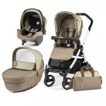 Carucior 3 in 1 Peg Perego Book Plus 51 S Black&White Class Beige