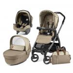 Carucior 3 in 1 Peg Perego Book Plus S Black Class Beige