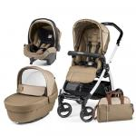 Carucior 3 in 1 Peg Perego Book Plus S Black&Whites Class Beige