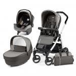 Carucior 3 in 1 Peg Perego Book Plus S Black&White Class Grey