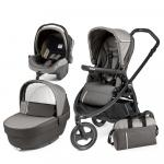 Carucior 3 in 1 Peg Perego Book Scout Matt Black Class Grey