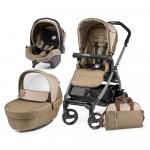 Carucior 3 in1 Peg Perego Book Plus 51 Black Class Beige