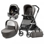 Carucior 3 in1 Peg Perego Book Plus 51 Black Class Grey