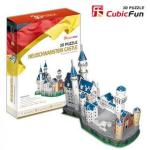 Puzzle 3D Castelul Neuschwanstein Germania 98 de piese