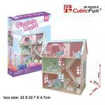 Puzzle 3D Colectia Casuta papusilor Casa pianistului 105 piese