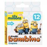 Creioane colorate Minions 12 culori/set