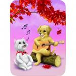 Felicitare Eclectic Canine Singalong