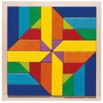 Joc de indemanare si puzzle Haba Geomix 3ani+