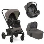 Carucior multifunctional 3 in 1 Chrome Foggy Gray