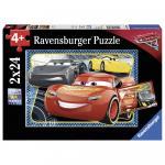 Puzzle Cars Pot sa Castigi 2x24 Piese