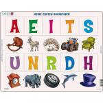 Puzzle Primele Cuvinte in Limba Germana, 10 piese Larsen LRLS1-DE