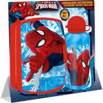 Recipient apa 500 ml + cutie sandwich plastic Spiderman