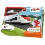 Tren de calatori cu sine si telecomanda Swiss Express