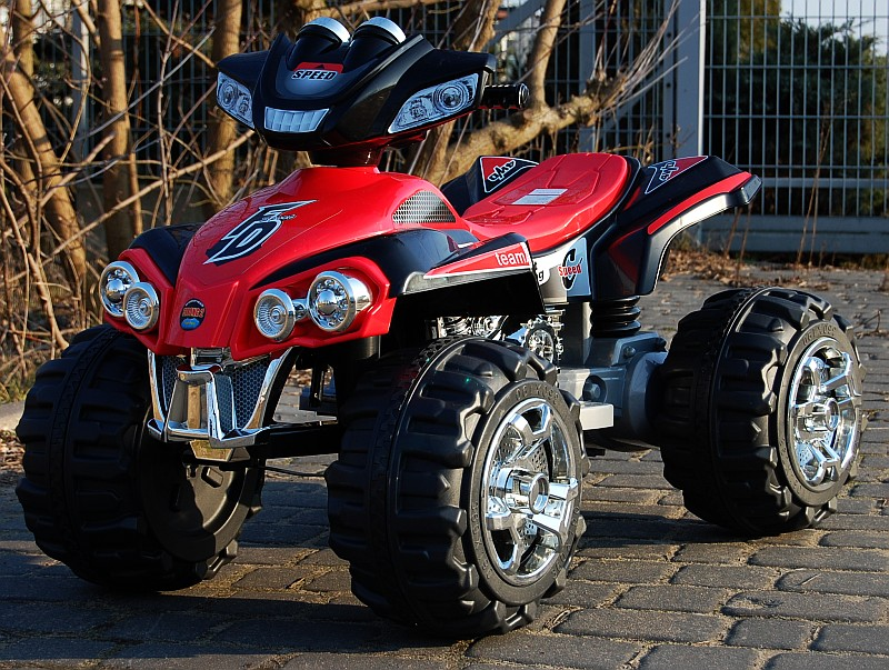 ATV electric cu doua motoare Buggy Speed Red