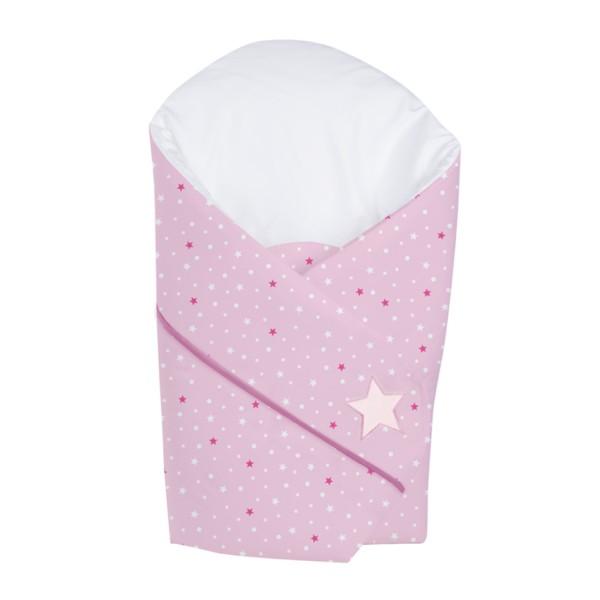 Patura de infasat wrap Sleeping Bear pink H105