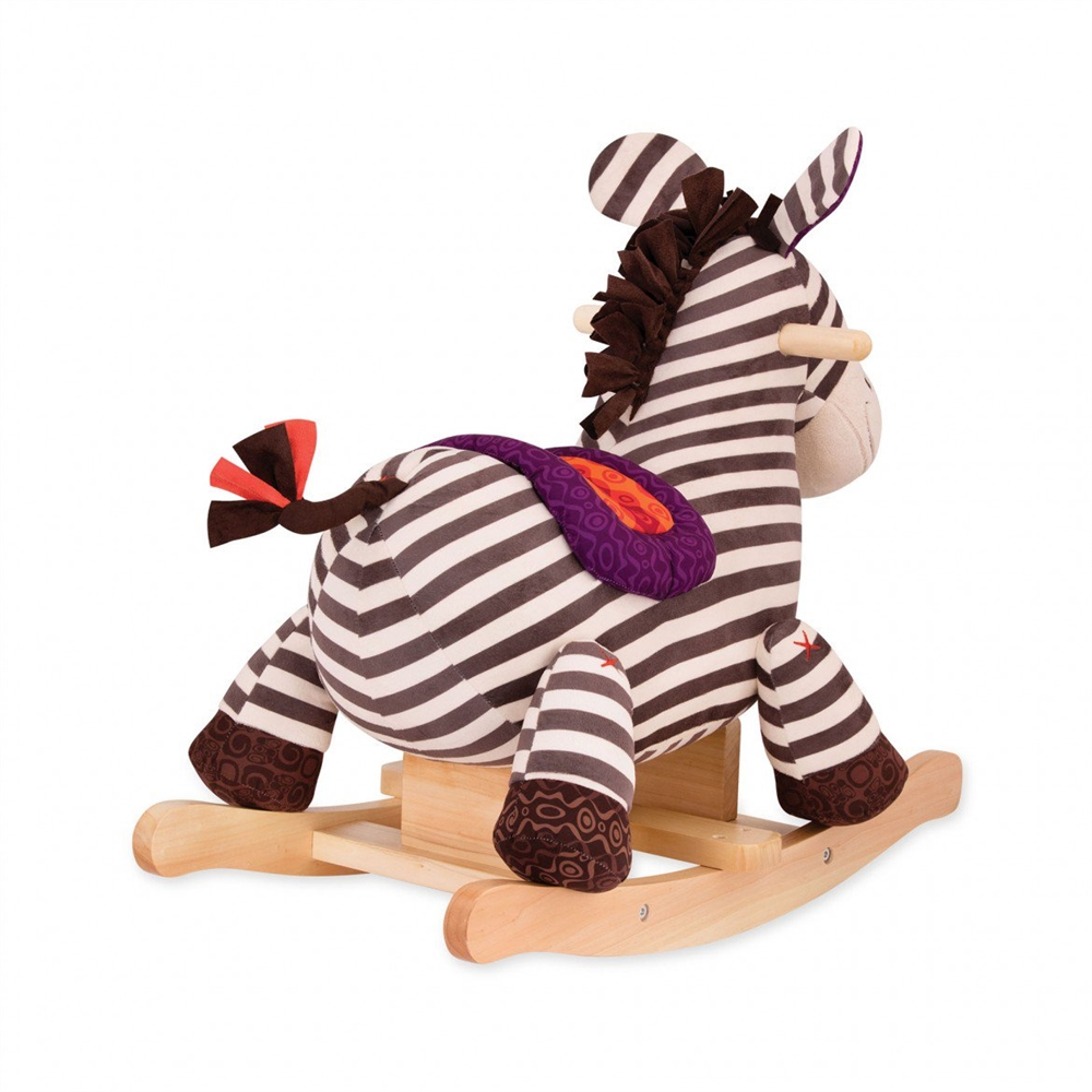 Balansoar lemn Zebra B.Toys