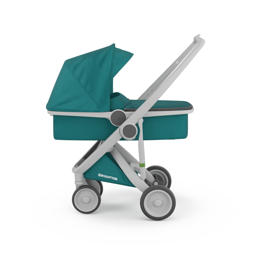 Carucior 2 In 1 100 Ecologic Grey Teal