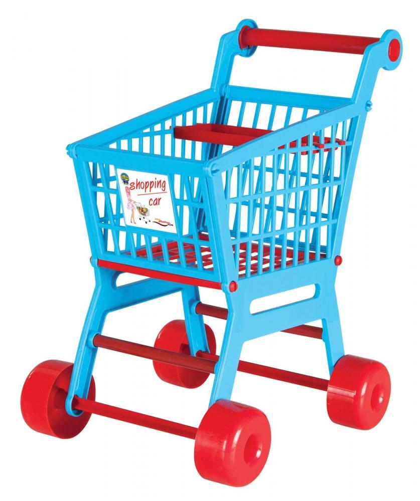 Carucior pentru cumparaturi cu accesorii Trolley Blue