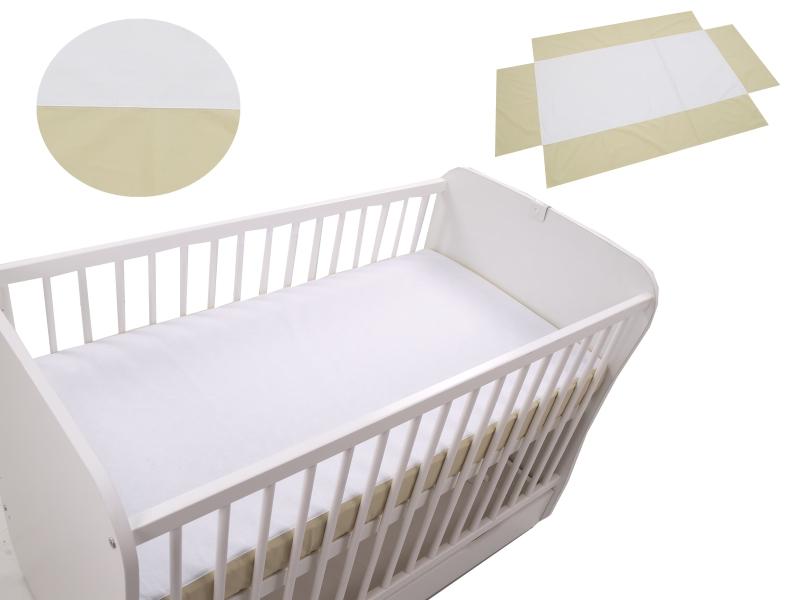 Cearceaf Klups fara elastic Bej 120×60 din categoria Camera copilului de la Klups