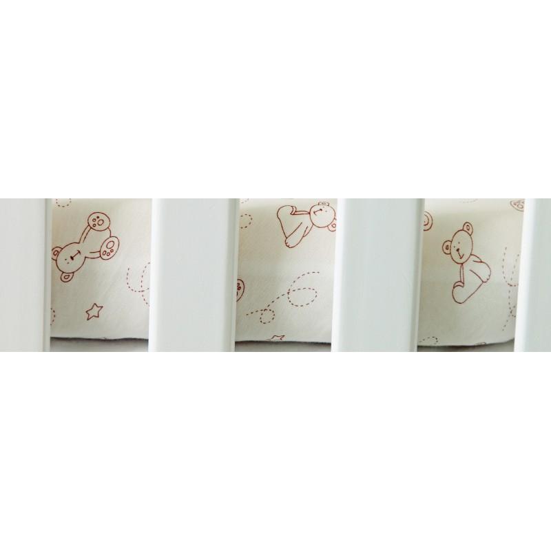 Cearsaf impermeabil cu elastic Teddy 70 x 140 cm imagine