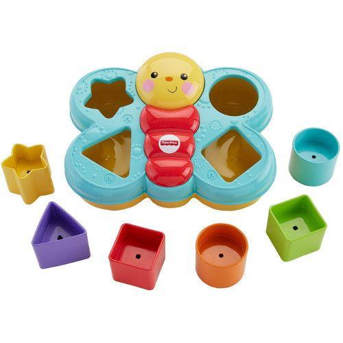Jucarie cu sortator Fisher Price by Mattel Infant Fluturas