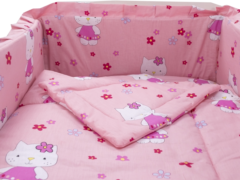 Lenjerie Kitty 4+1 Piese 120x60