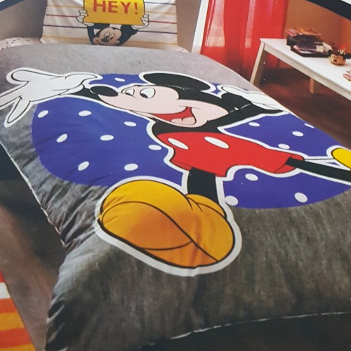 Lenjerie de pat Tac Disney Mickey Fun