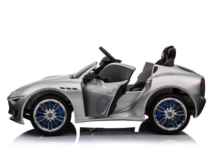 Masinuta electrica cu roti din cauciuc Maserati Alfieri Silver