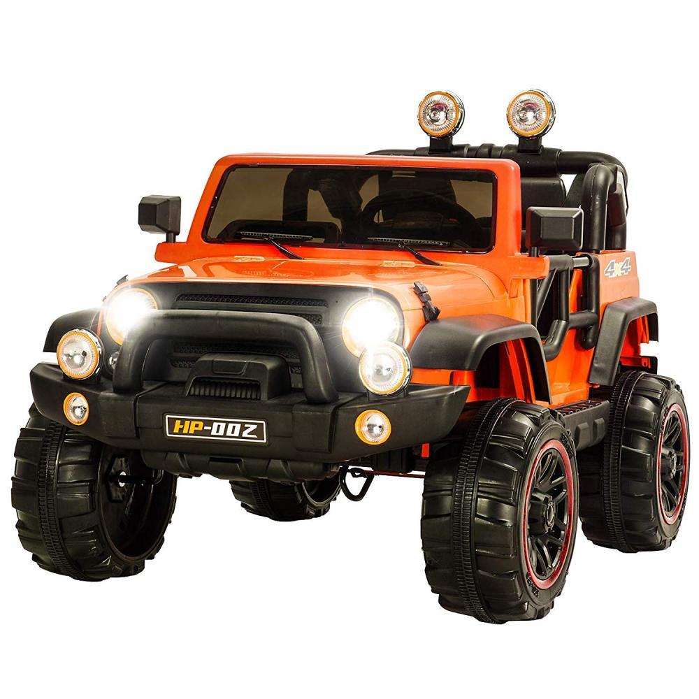 Masinuta Electrica Cu Doua Locuri Rocket Jeep Fearless Orange