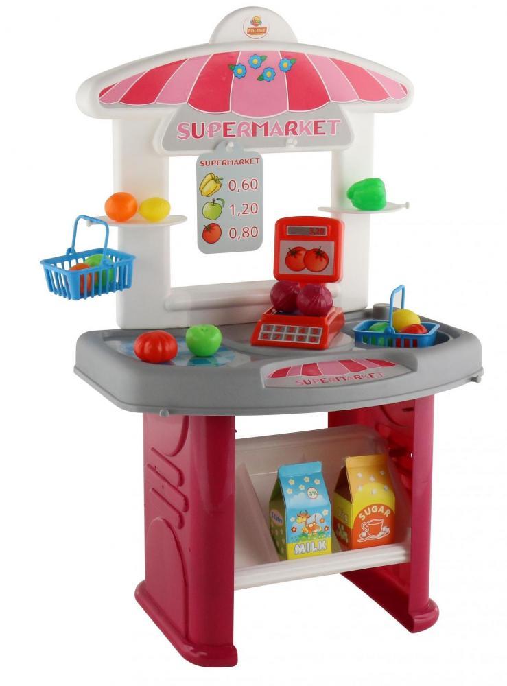 Mini-set supermarket cu accesorii